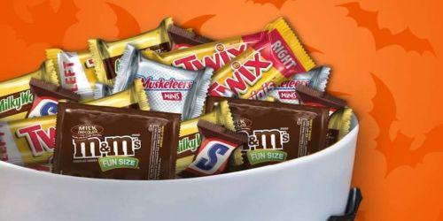 BIG Bag of Mars Halloween Chocolate Candy Variety Mix Just $15.63 on Amazon