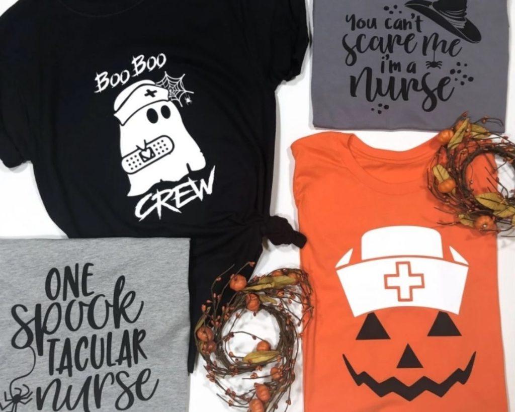 Halloween Nurse Tees