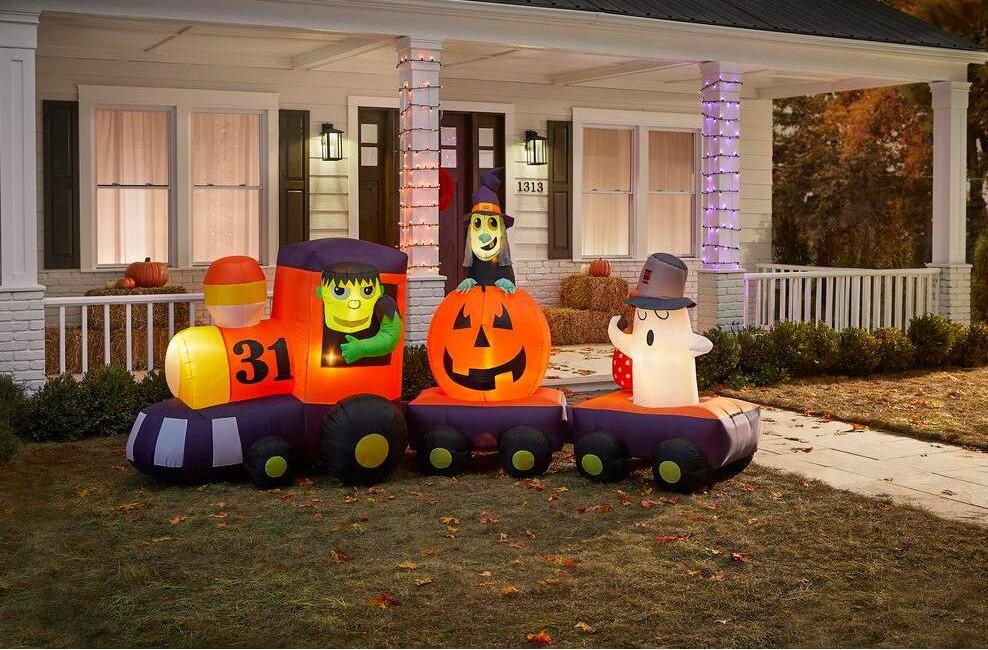 Halloween Train Inflatable