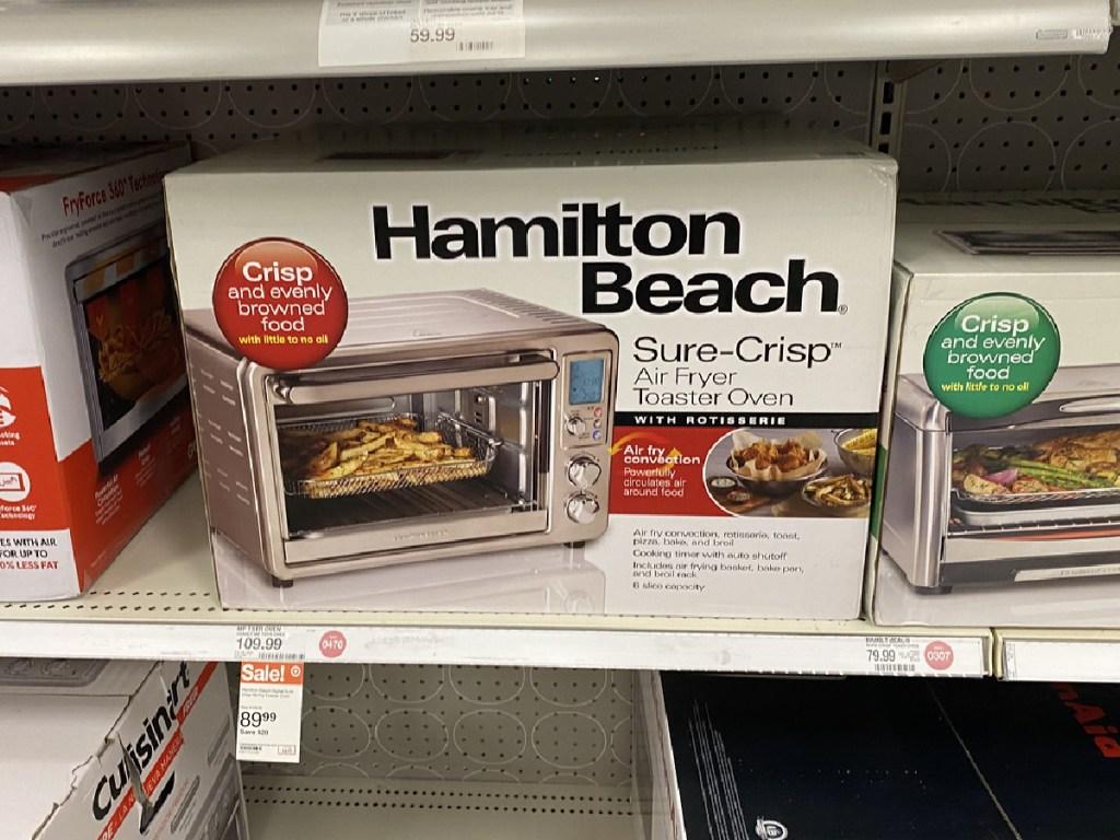 Hamilton Beach Sure-Crisp Air Fryer and Toaster