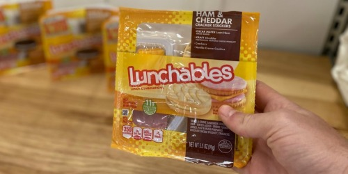 Lunchables as Low as 83¢ Each at Kroger (Regularly $2)