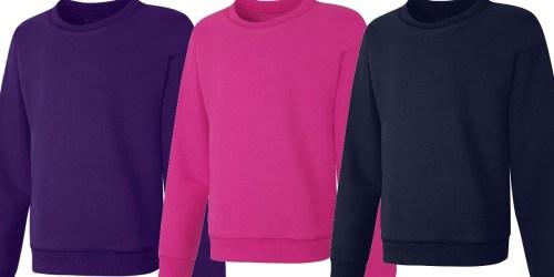 Hanes Kids Sweatshirts Only $7 on Amazon or Walmart.com