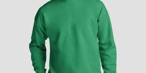 Hanes Men's Sweatshirts from $7.50 on Amazon (Regularly $11+)