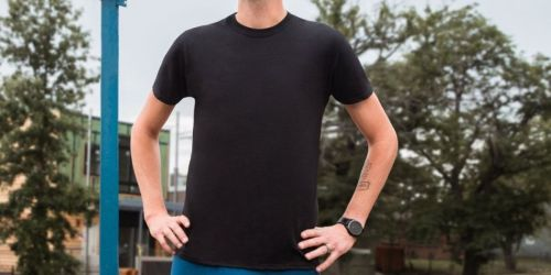 Hanes Men's Beefy T-Shirts Only $3.99 on Amazon | Over 10,000 5-Star Reviews