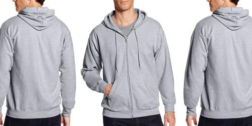 Hanes Men's Full-Zip Fleece Hoodie Just $7.50 on Amazon (Regularly $14)