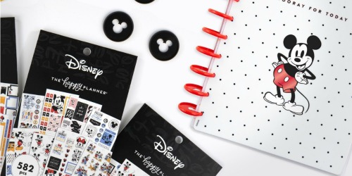 Your Happy Planner Just Got a Mickey Makeover | Planners & Accessories from $7.99