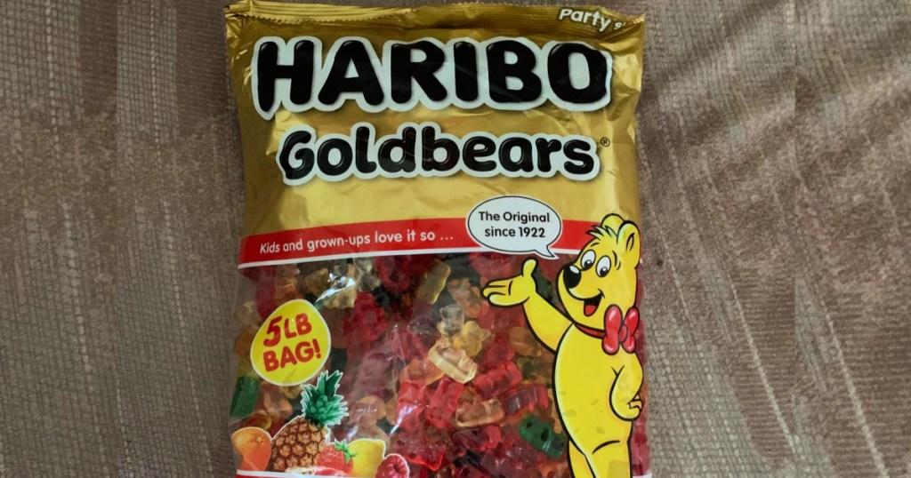 Haribo Goldbears Gummi Candy 5-Pound Bag