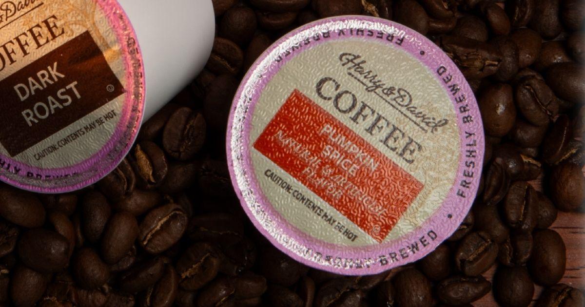 Harry David Pumpkin Spice Coffee single serve pod