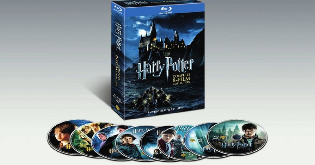 eight Blu-ray discs and box set