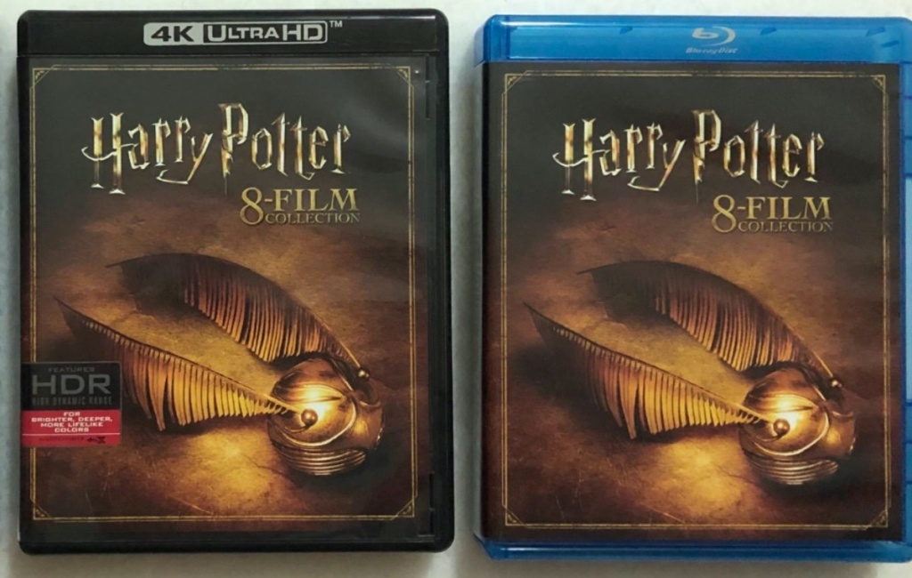 4K movie collection and Blu-ray movie collection