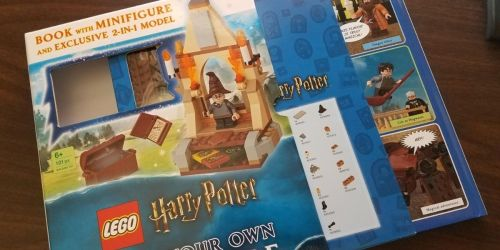 LEGO Harry Potter Build Your Own Adventure Hardcover Book Set Only $14.91 on Amazon