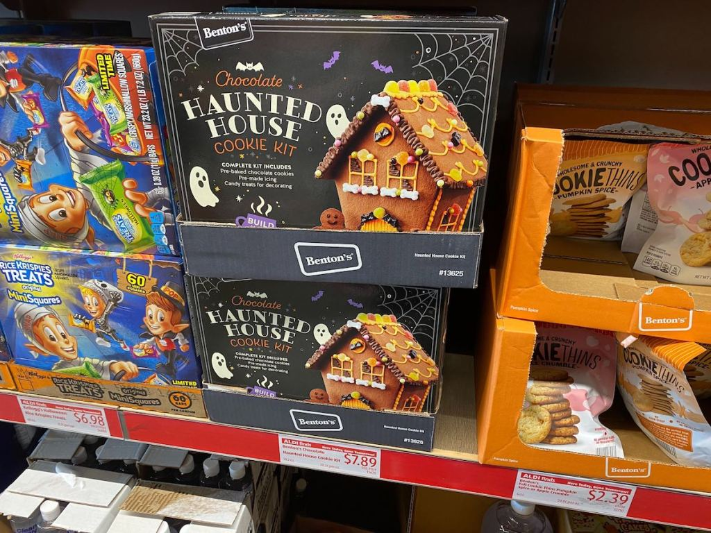 Haunted House Kits from ALDI