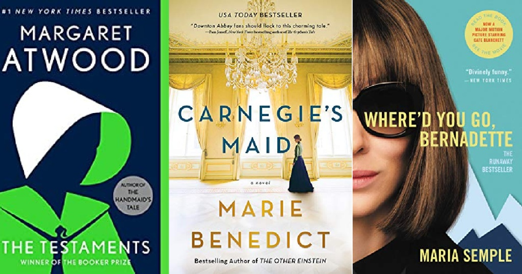 The Testaments, Carnegie's Maid and Where Did You Go Bernadette eBooks