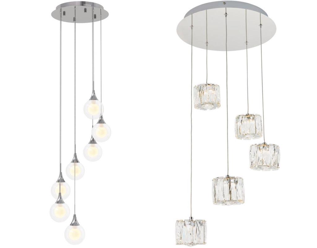 two ARTIKA pendant lights