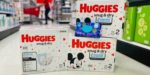 FREE $15 Target Gift Card w/ $75 Baby Purchase = Big Savings on Huggies Boxed Pull-Ups & Diapers