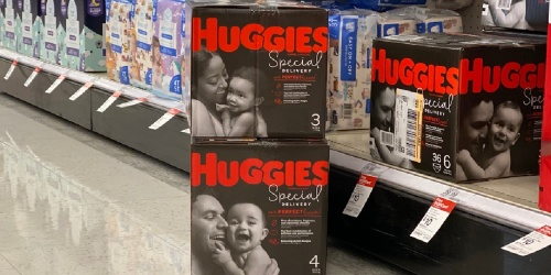 Huggies Diapers 1-Month Supply from $32.89 Shipped on Amazon (Regularly $45+)