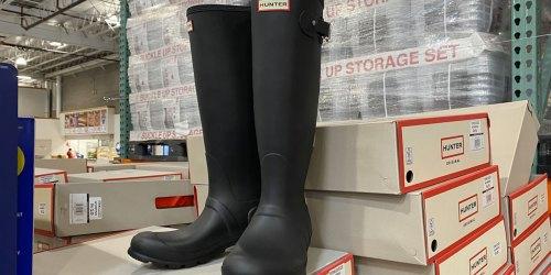 Hunter Women's Tall Matte Rain Boots Just $84.99 at Costco