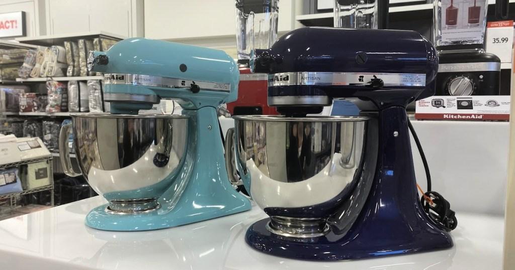 Kitchen Aid Mixer on SHelf