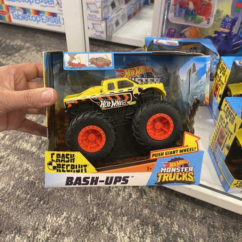 Hot Wheels Truck on Shelf