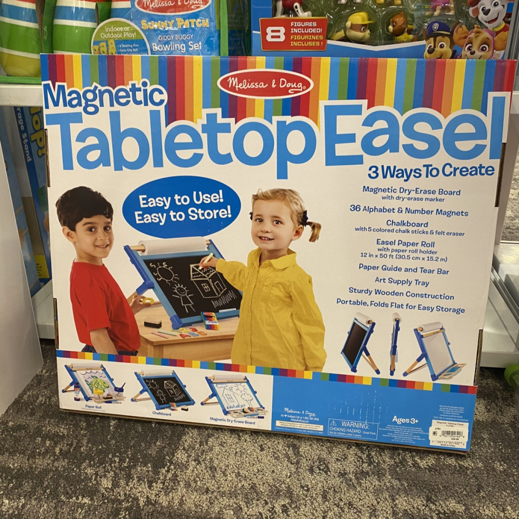Melissa and Doug Easel in store