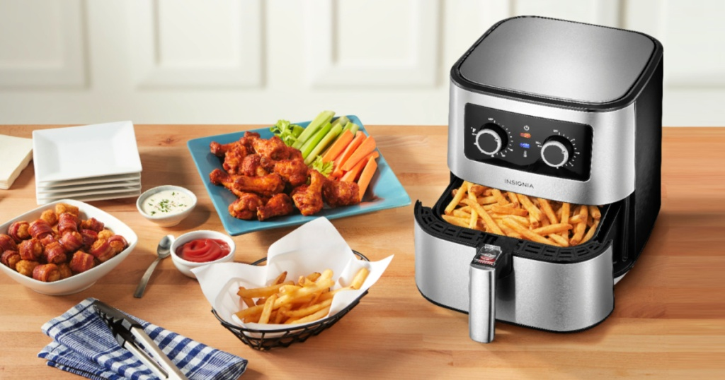 Insignia 5-Quart Stainless Steel Air Fryer