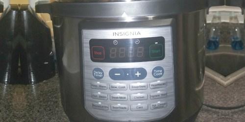Insignia 8-Quart Multi-Cooker Just $39.99 Shipped on BestBuy.com (Regularly $120)