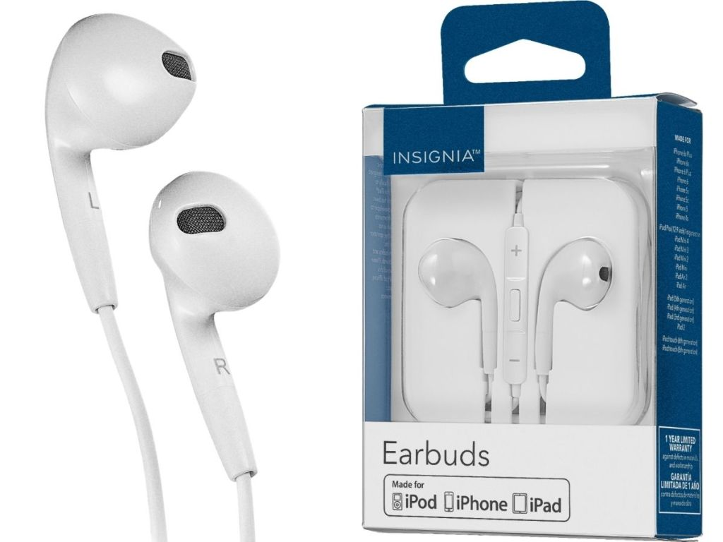 earbuds and earbuds packaging