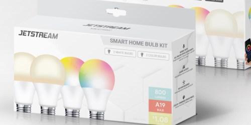 Jetstream Smart Home Bulb Kit Only $15 on Walmart.com (Regularly $44)