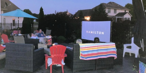Host an Outdoor Movie Night w/ this Mini Projector for Only $73 Shipped on Amazon