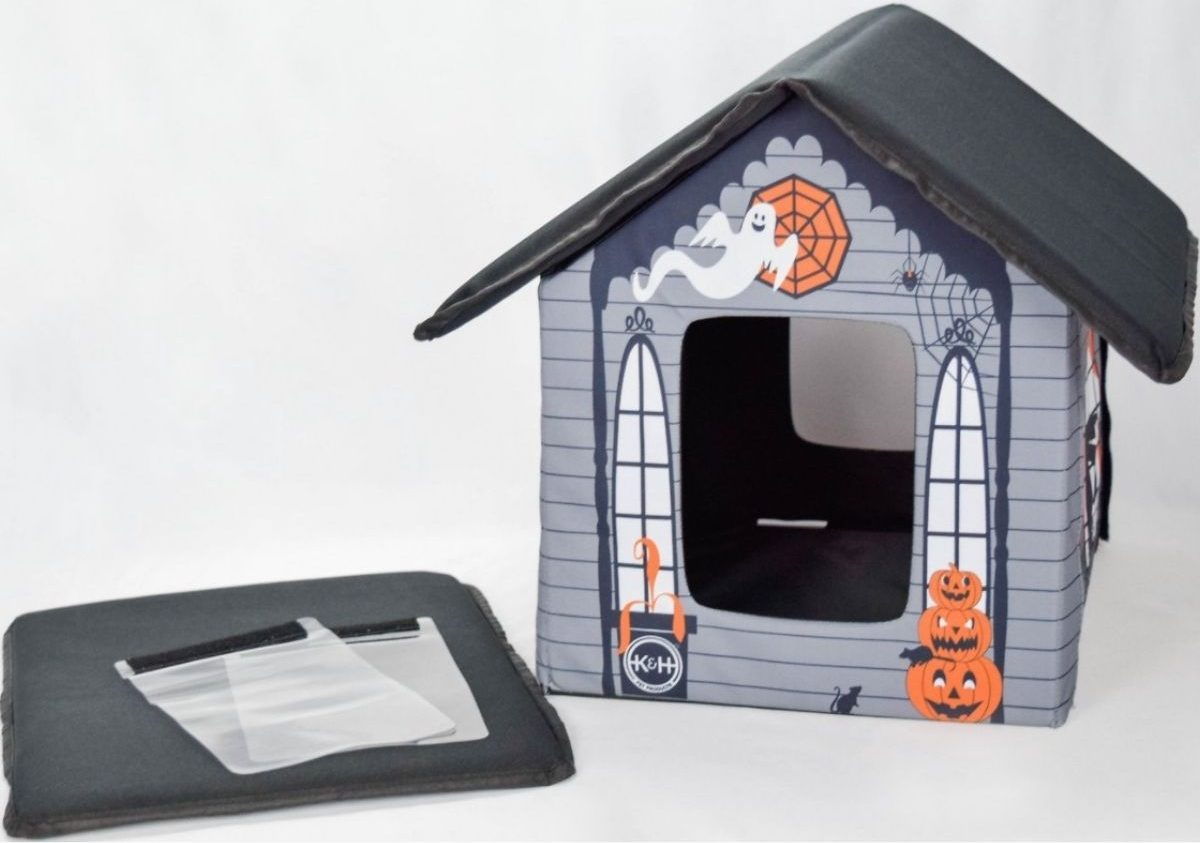 KH Products Halloween Cat House
