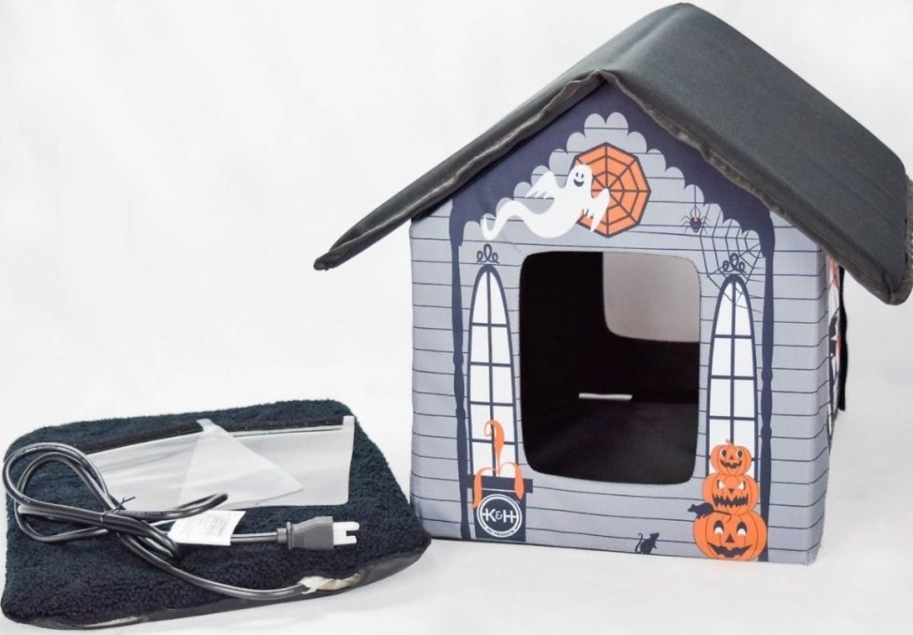 K&H Products Heated Halloween Pet House