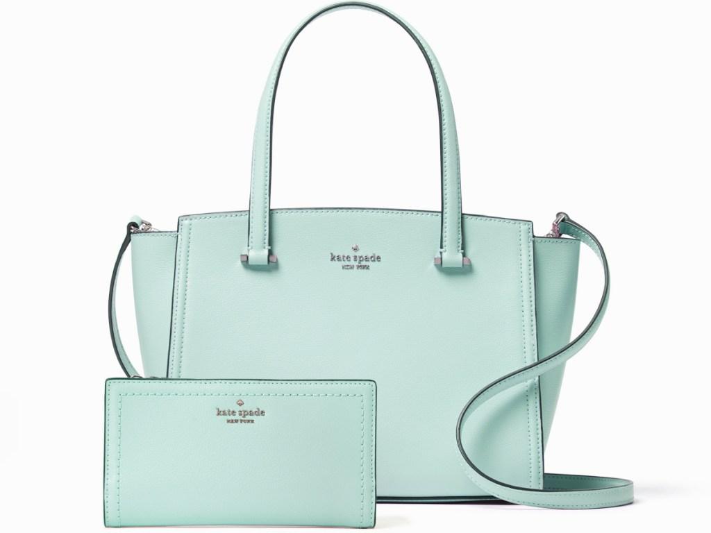 Kate Spade Patterson Drive Small Geraldine Handbag and Wallet Bundle