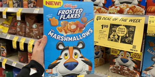 Kellogg's Frosted Flakes w/ Marshmallows Cereal Only 99¢ at Walgreens