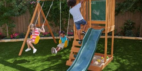 KidKraft Ainsley Wooden Swing Set Only $264 Shipped on Walmart.com (Regularly $400)
