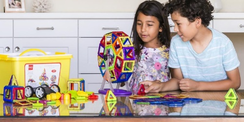 Up to 65% Off Magnetic Building Tiles Sets + Free Shipping