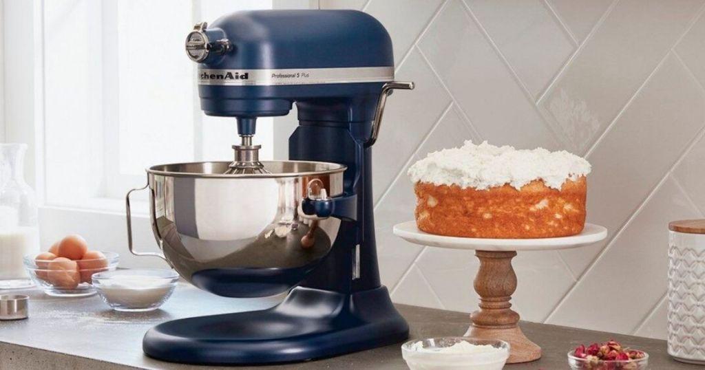 KitchenAid Pro 5 Plus Blue Mixer
