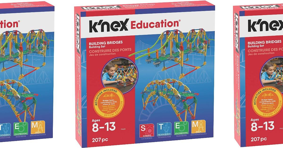 knex bridge set in box