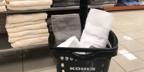 SONOMA Bath Towels Only $4.66 on Kohls.com (Regularly $14) | Tons of Colors Available