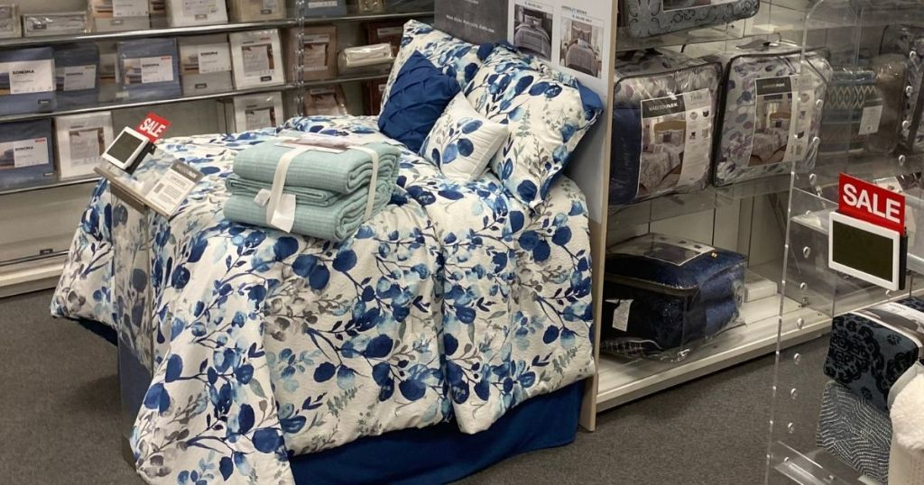 bedding area in Kohl's