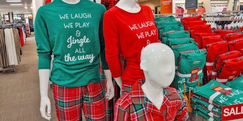 Matching Family Christmas Pajamas from $7.69 Shipped for Kohl's Cardholders (Regularly $15+)