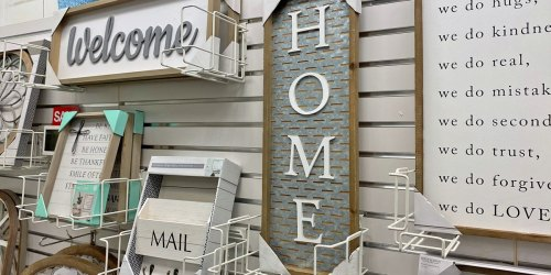 Farmhouse Style Signs from $17.49 (Regularly $50) + Free Shipping for Kohl's Cardholders