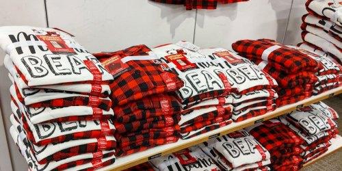 Matching Holiday Family Pajamas Under $18 on Kohls.com | Perfect for Christmas Photos