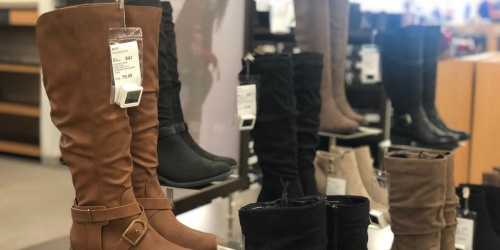 Kohl's Lowest Prices of the Season Sale | Women's Boots Just $16.99 (Regularly up to $70!)