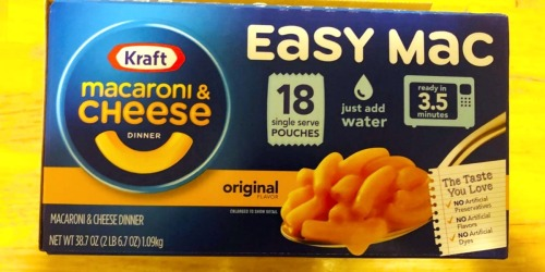 Kraft Easy Mac 18-Pack Just $6 Shipped on Amazon