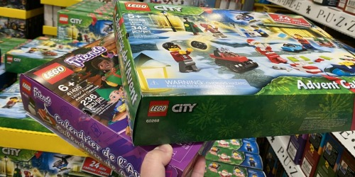 LEGO City or LEGO Friends Advent Calendar Only $14.97 at Costco