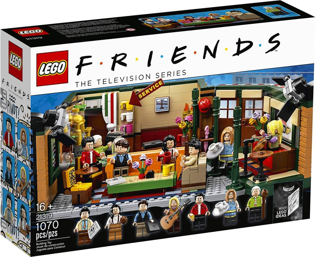 box for the LEGO Friends Central Perk building set