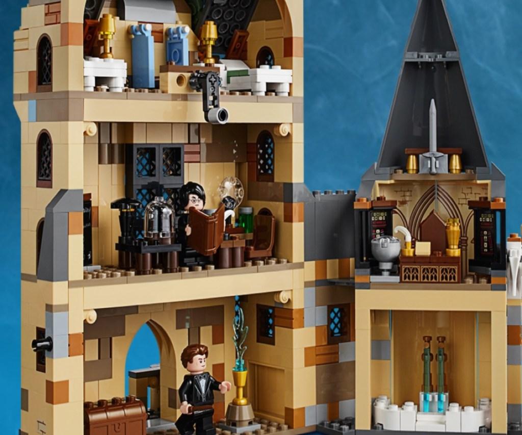 inside of Harry Potter LEGO Clock Tower set