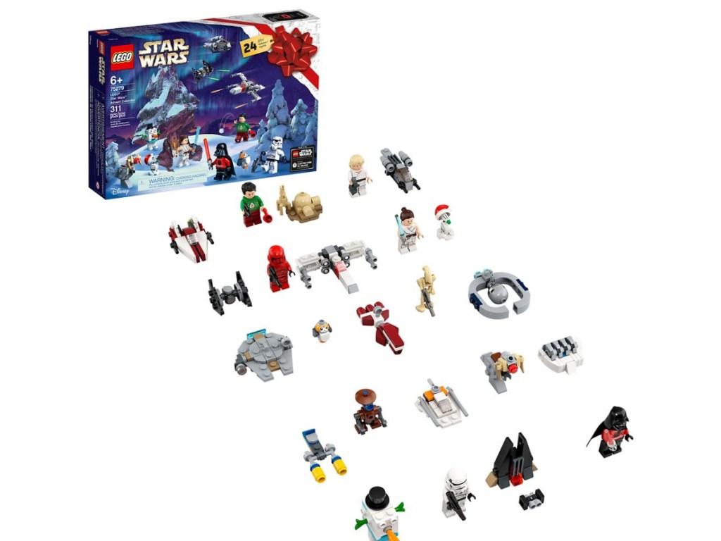 LEGO Star Wars advent calendar and mini toys