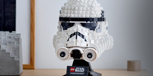 LEGO Star Wars Stormtrooper Helmet Set Only $49.99 Shipped After Target Gift Card (Regularly $60)