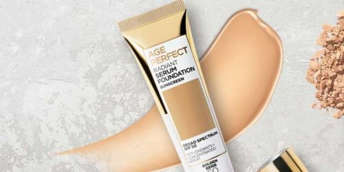 FREE L'Oréal Radiant Serum Foundation Sample